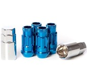 32902U - BLUE - SR48 OPEN END LOCK SET: 12X1.5