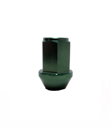 WKIC3M - GREEN - LEGGDURA RACING LUG NUT: 12X1.25 picture