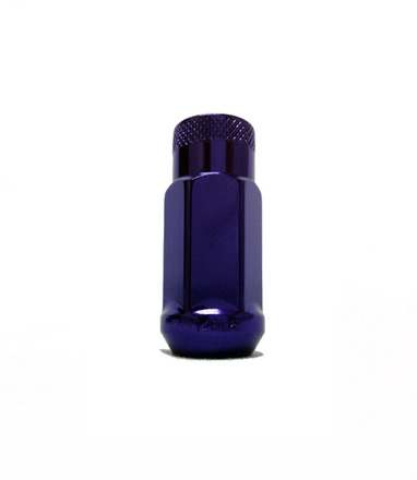 33006L - PURPLE - MONSTER LUG NUT: 14X1.5 picture