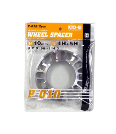 W010UP - UNIVERSAL SPACERS (PAIR): 10MM picture