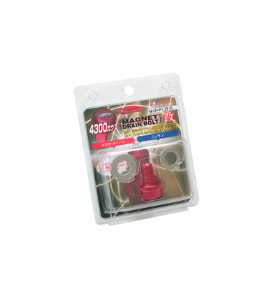 WMAG1 - RED - MAGNET DRAIN BOLT: 12X1.25 picture