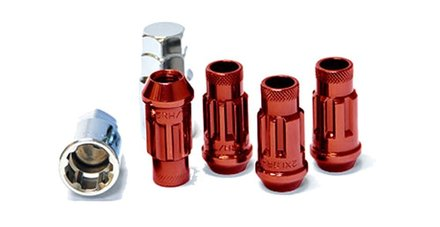32901R - RED - SR48 OPEN END LOCK SET: 12X1.25 picture