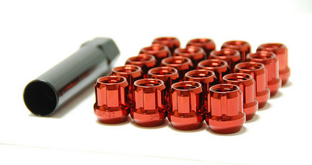 31885R - RED - MUTEKI OPEN END: 12X1.25 picture