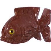 Spirit Animal 1.25-inch Fish Dolomite