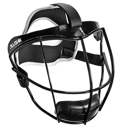 "VELA™ YOUTH FIELDING MASK 10"" + SOFTBALLS picture"
