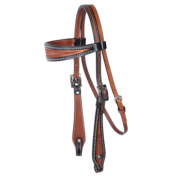 Two-Toned Browband Headstall