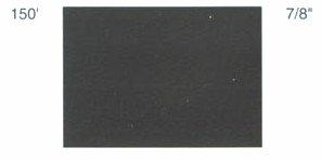 """7/8"""" x 150'  Single Stripe Black picture"""