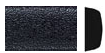 "5/8"" European Style Gloss Black Embossed    24' KIT picture"