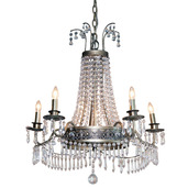 "The Downton Abbey Grantham Collection 26.75"" H Mid-Size Chandelier"
