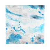 """36""""H Clouds in the Sky Abstract Watercolor Wall Décor"""