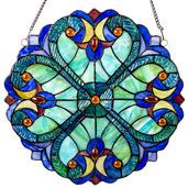 "12"" Mini Halston Glass Panel"