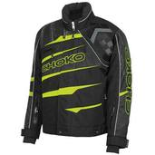 Pro Racing Mens Nylon Jacket Safety Lime