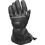Leather Gloves With Short Gauntlet
