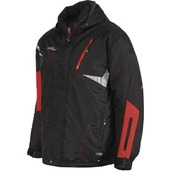 Trail Star Mens Nylon 2Pc Suit Black/Red