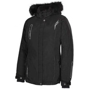 Adventurer Ladies Nylon Jacket Black