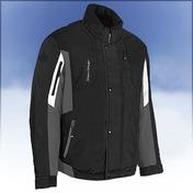 Trail Breaker Mens Nylon Jacket Black/Grey