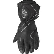 Adventurer Leather Gloves/Removable Liner Black