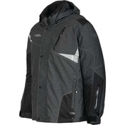 Trail Star Mens Nylon 2Pc Suit Black Denim