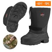 Mens Eva Thermal Boots Black