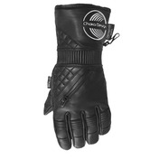 Ladies Ultra Leather Gloves Black
