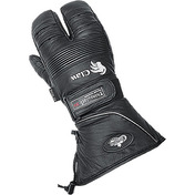 Leather Claw Mitts Black