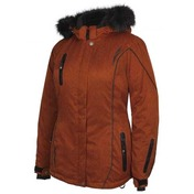 Adventurer Jacket en Nylon Orange brulé