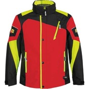 Choko CDI Junior 2 Pc Nylon Suit Red/Safety Lime