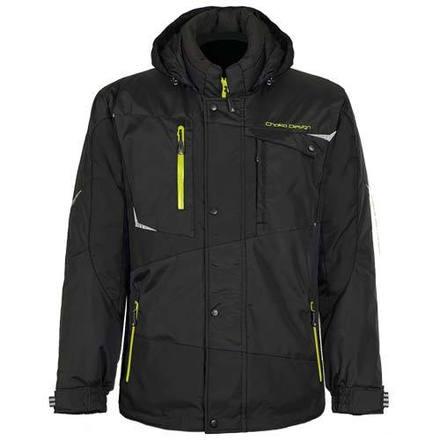Core Mens Nylon 2Pc Suit Black/Safety Lime picture