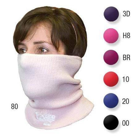 Embroidered Neck Warmer Berry picture