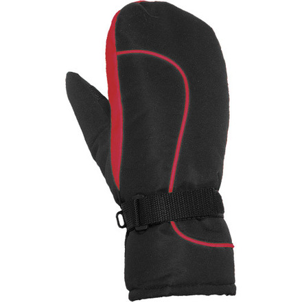 Youth Promo Nylon Mitts Red picture