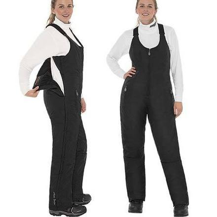 Pantalon Deluxe Dame à Rabat Noir Image