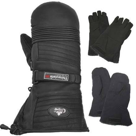 Ultra Leather Mitts - 2 mitts liners picture