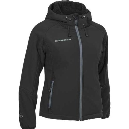 Ice Cruncher Soft Shell Hoodie Ladies picture