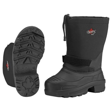 Mens Eva Thermal Boots Black picture