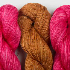 Aviendha Shawl Kit - Peony & Copper Pennies