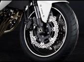 Strisce adesive per ruote (1/2) Bianco (25Y) Pearl Stardust White