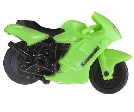 Moto Kawasaki figura