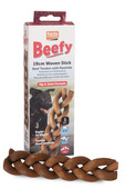Beef Tendon with Rawhide Woven Stick 1pk