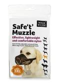 Safe 't' Muzzle Size 3XL black nose