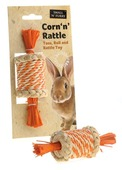 Corn N Rattle Toy