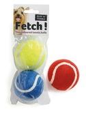 Fetch Tennis Balls 2pk Assorted