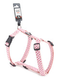 Dotted Dog Harness - Medium Purple/Pink