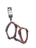 Tartan Dog Harness - Small Red