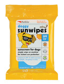 Petkin Sunscreen Wipes SPF 15 20 ct