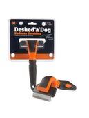 Deshed 'a' Dog Medium Orange/Black 66mm blade
