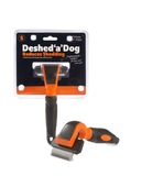 Deshed 'a' Dog Small Orange/Black 50mm blade