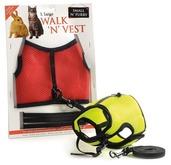 Walk N Vest N Leash Ex Large