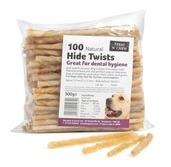 Hide Twists - 100 pcs