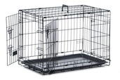 Dog Crate - Medium Black