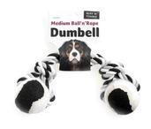 Medium Ball N Rope Dumbell 180G Assorted